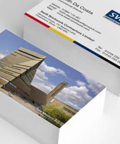 Cartes de Visite impression lithographique