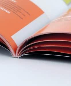 Catalogue Dos carré collé