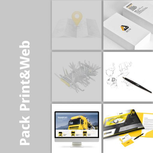 Pack Print and web Origami